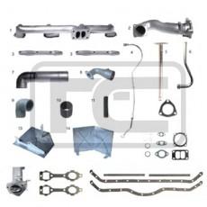 629K Kit de Turbo Mercedes Benz OM-352 Completo